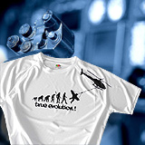 Funktions T-Shirt TRUE EVOLUTION HELICOPTER