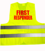 Warnweste FIRST RESPONDER