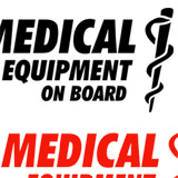 Aufkleber MEDICAL EQUIPMENT