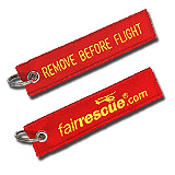 Schl�sselanh�nger REMOVE BEFORE FLY